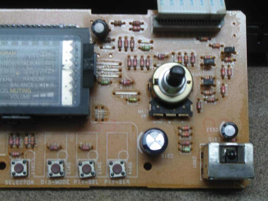 ποτενσιόμετρο έντασης ήχου