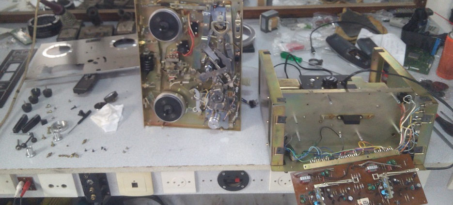 Akai x-201d επισκευή