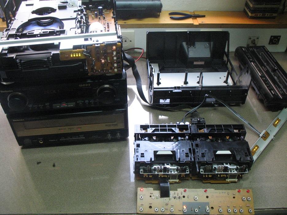 technics deck service