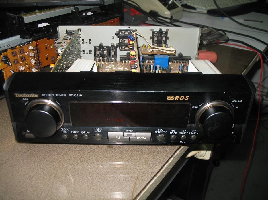 technics stereo tuner st-ca10