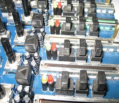 service mixer sound