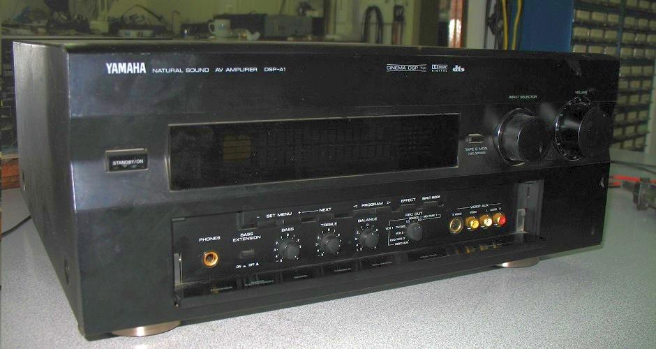 Επισκευή ενισχυτή Yamaha DSP-A1