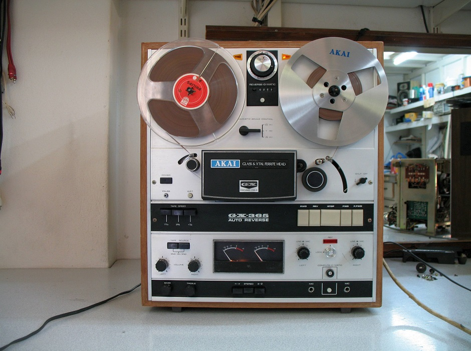 Μαγνητόφωνο akai gx-365