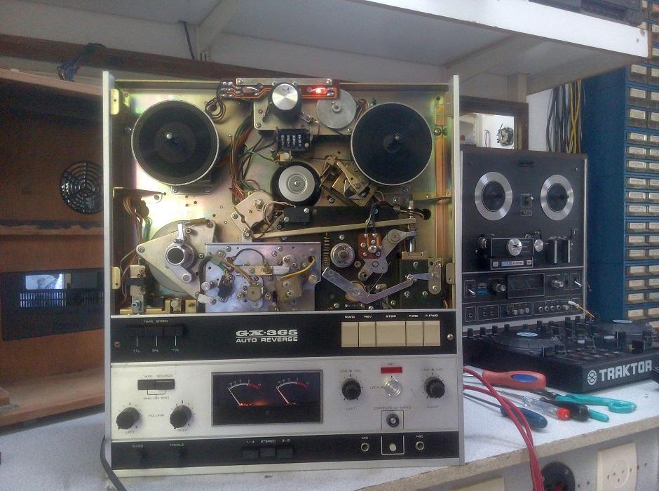 μπομπινόφωνο akai συντήρηση και ρυθμίσεις
