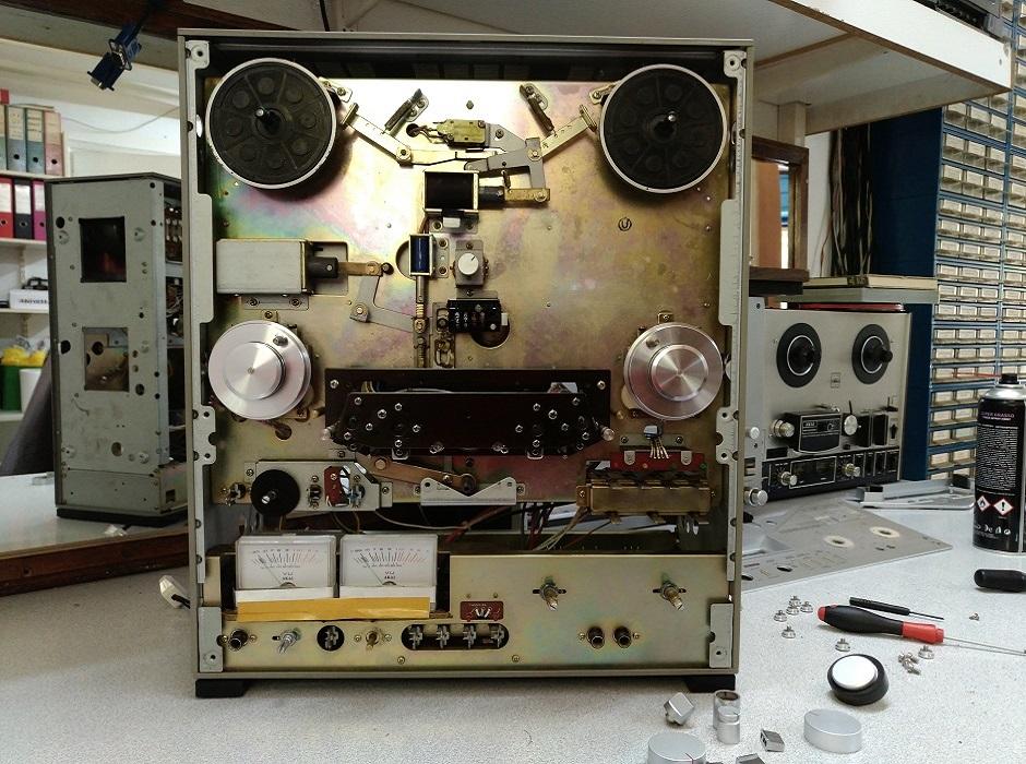 μπομπινόφωνο akai GX-636 service