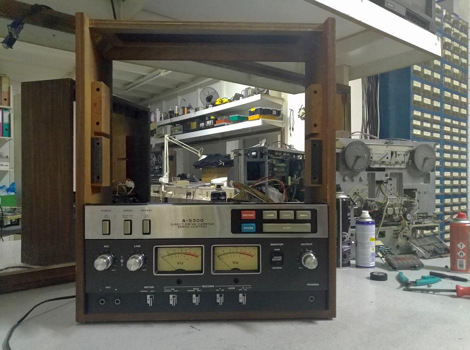 Μπομπινόφωνο teac a-300 επισκευή