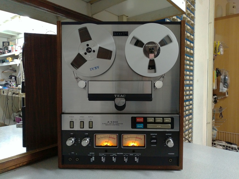 service and test play - record teac a-300