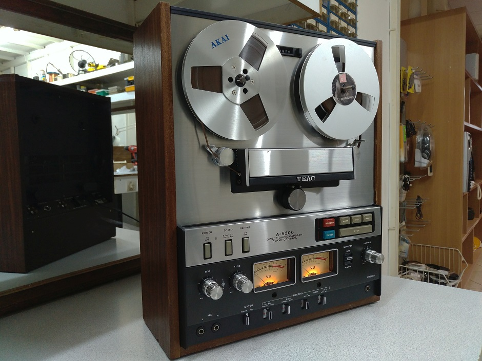 teac a-300 reel to reel service