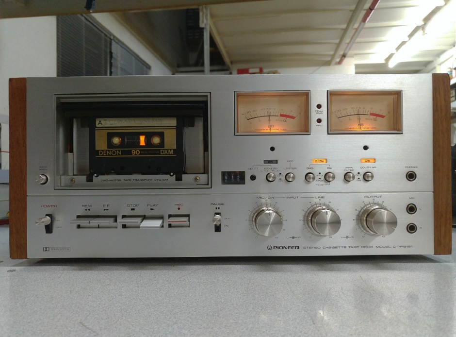 κασετόφωνο pioneer επισκευή