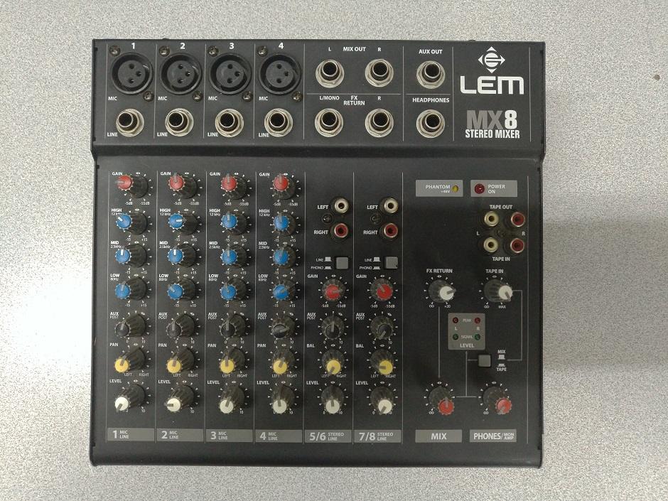 mixer lem mx8