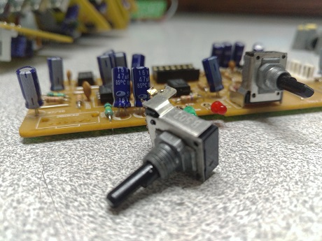 potensiometer mixer lem