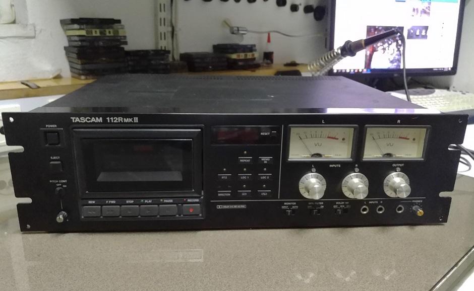 Tascam 112r MKII κασετόφωνο επισκευή