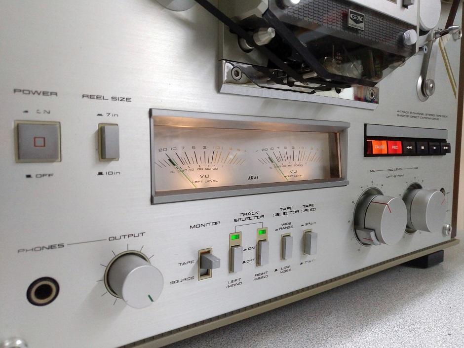 Μπομπινόφωνο επισκευή και συντήρηση AKAI GX-620