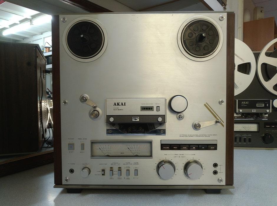 Service μπομπινόφωνο AKAI GX-620