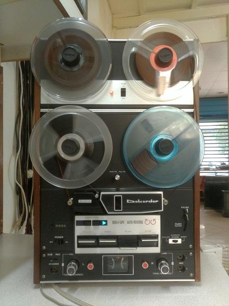 μπομπινόφωνο dokorder 8020a επισκευή συντήρηση