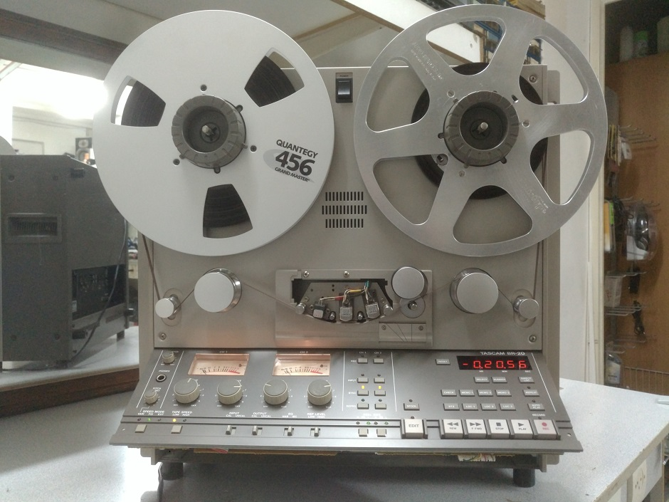 tascam reel to reel test and service