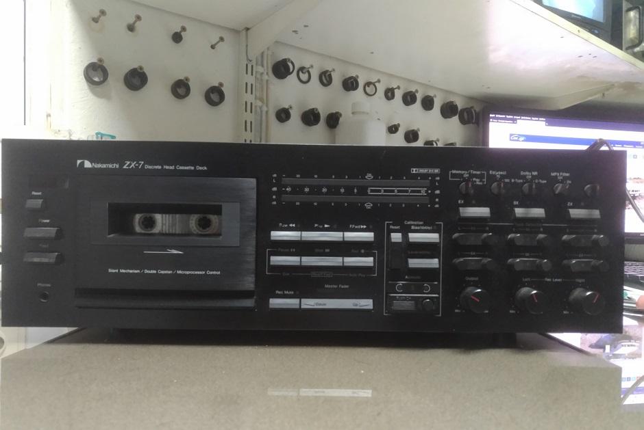Κασετόφωνο Nakamichi ZX-9 Επισκευή