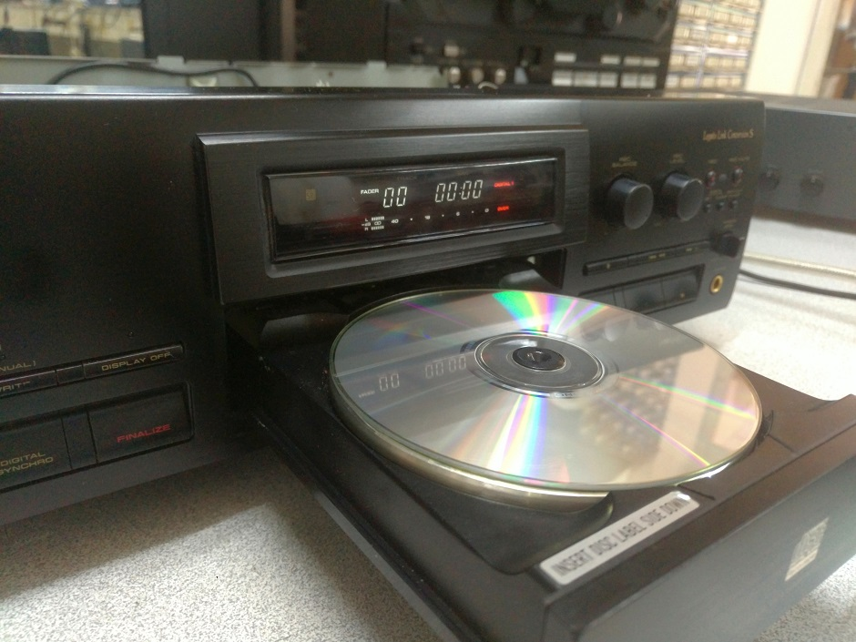εγγραφη cd με pioneer cd recorder