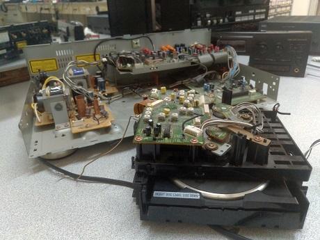 επισκευή cd recorder pioneer