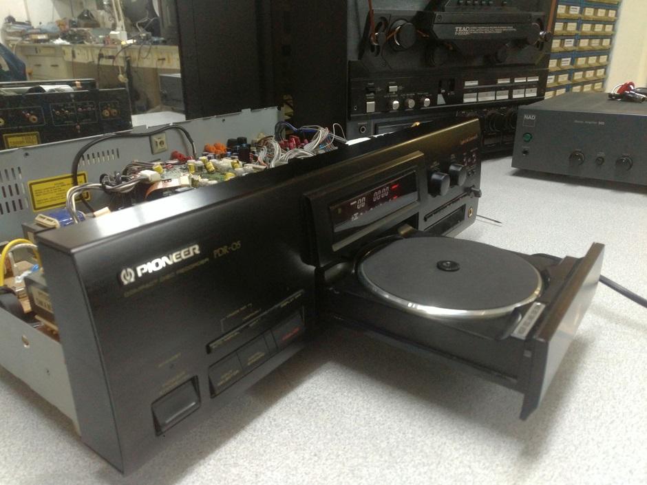 Pioneer επισκευή cd εγγραφής