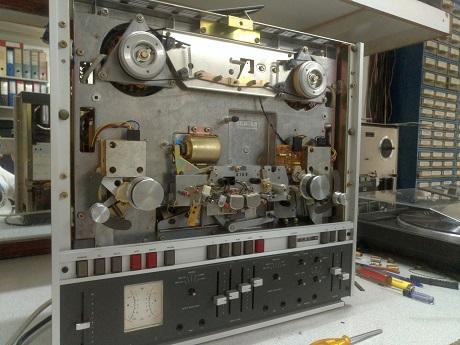 μπομπινόφωνο revox επισκευή - καθαρισμός - συντήρηση