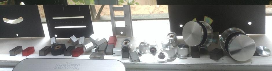 ρεβοξ μαγνητόφωνο καθαρισμός πρόσοψης και μπουτόν