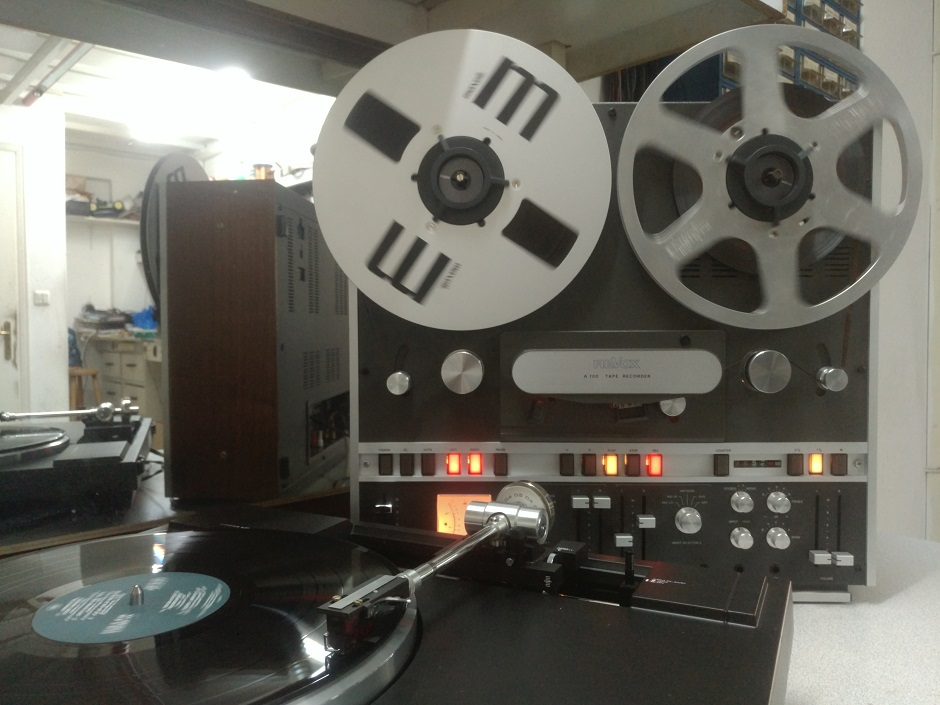 revox recording from pick up