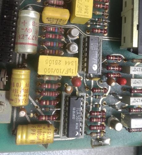 service capasitors studer