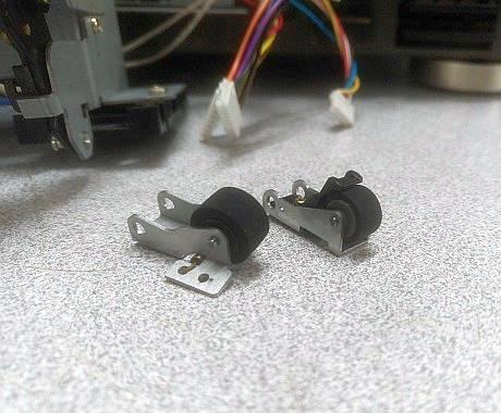 deck teac pinch roller replace