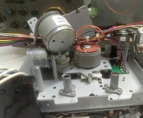 motor teac deck