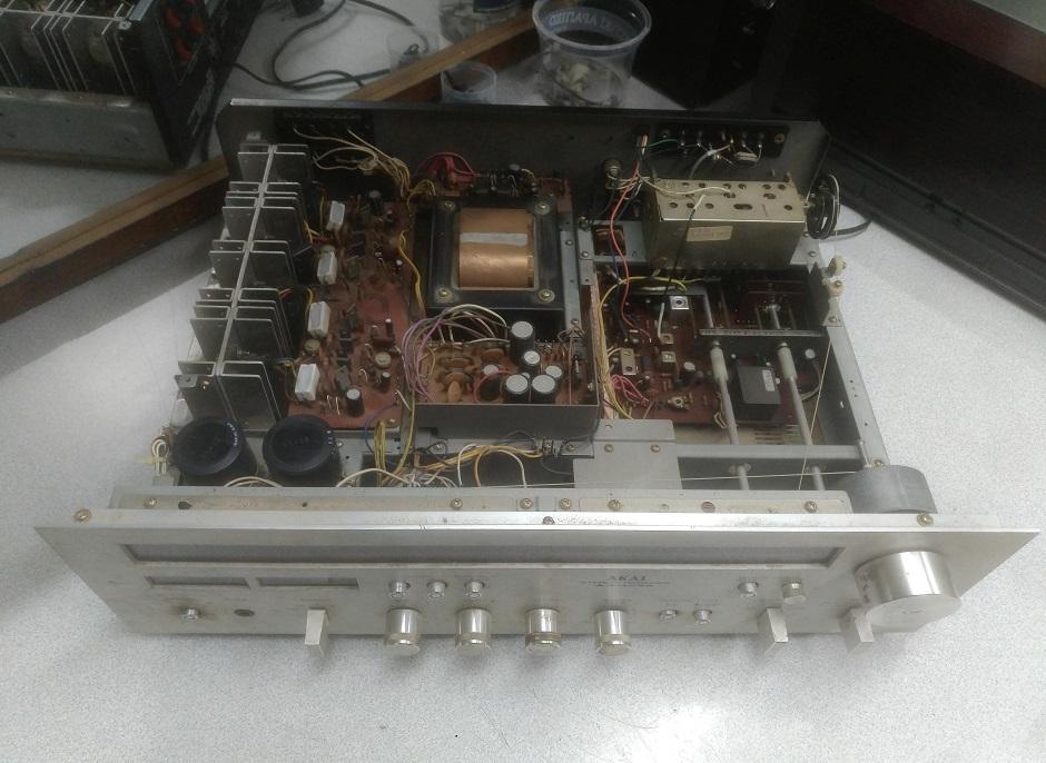 ραδιοενισχυτής akai aa-1040 service