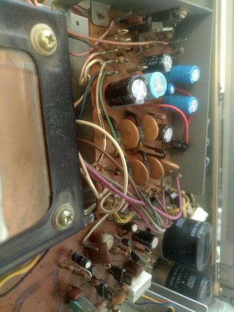 ακαι ραδιοενισχυτης επισκευή πλακετας