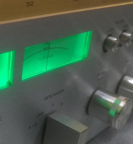 led φωτισμός οργάνων ραδιοενισχυτή