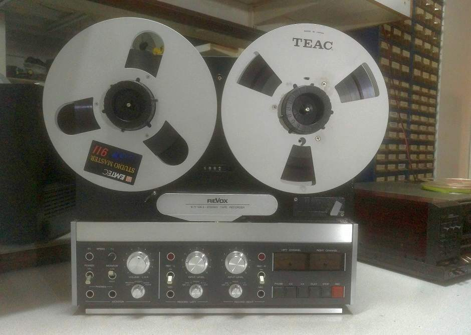 reel to reel revox b-77