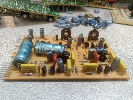 revox b77 capacitors replacement