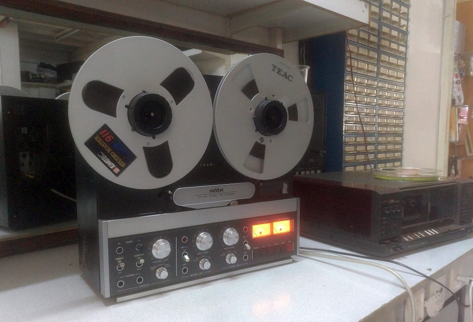revox b77 rec play test