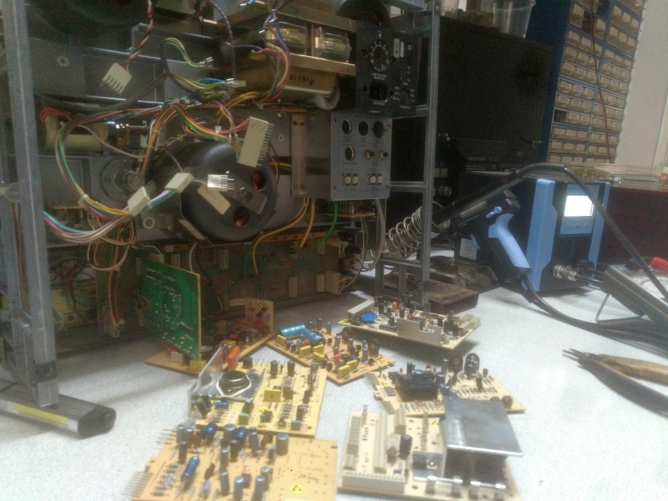 revox service boards