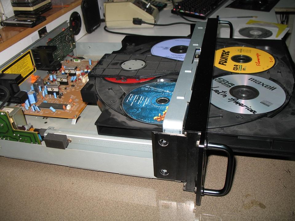 carver cd 5 disc