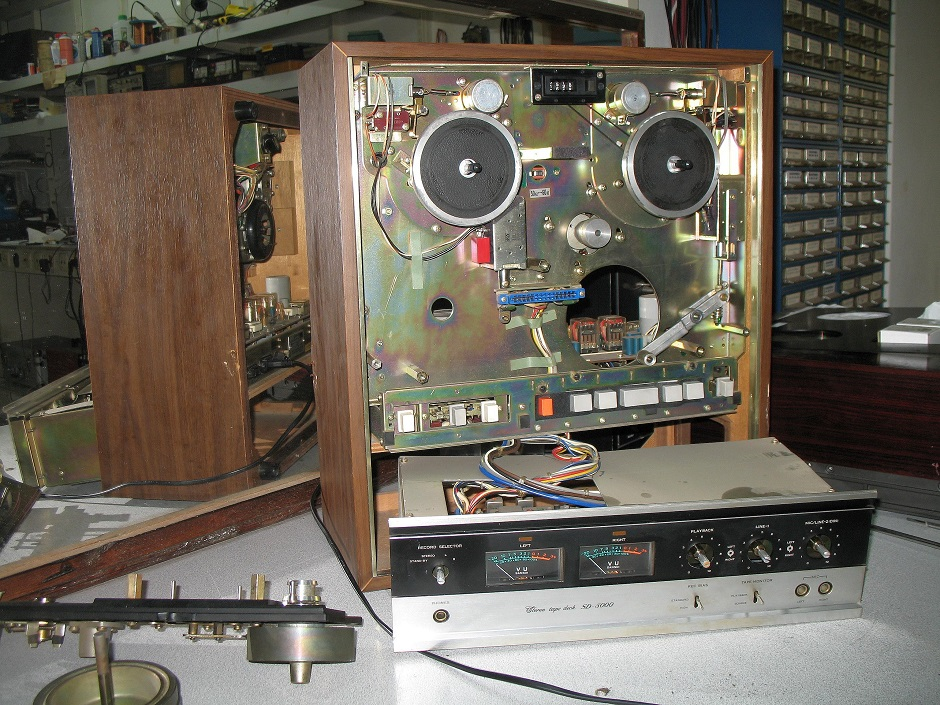 service reel to reel sansui sd5000