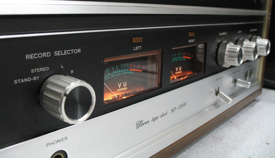 stereo tape deck sd - 5000