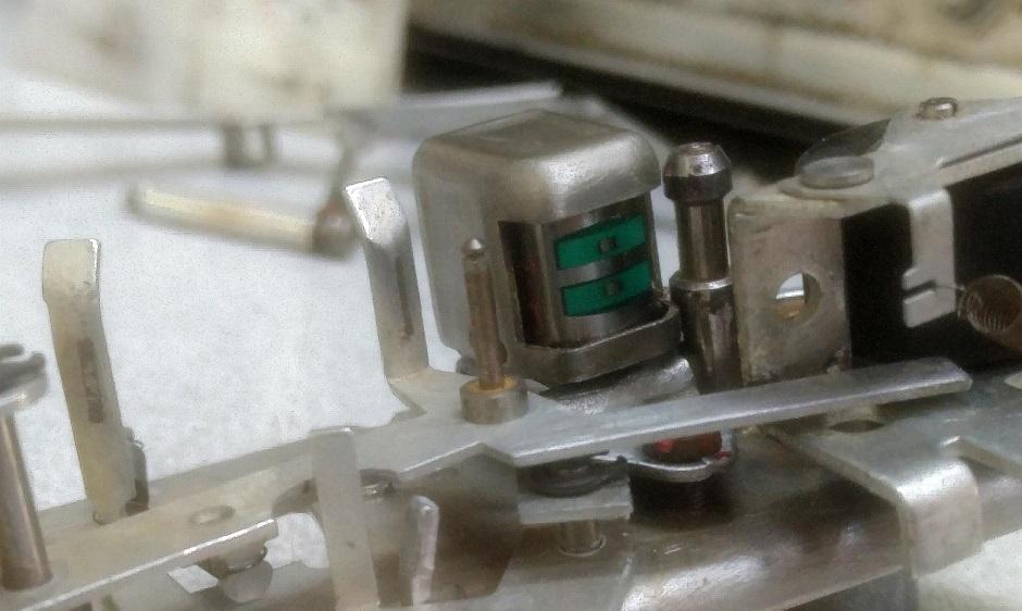 record - play head reel to reel philips N4407