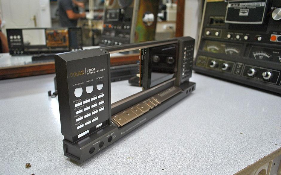 service - sound teac z-7000 cassette deck
