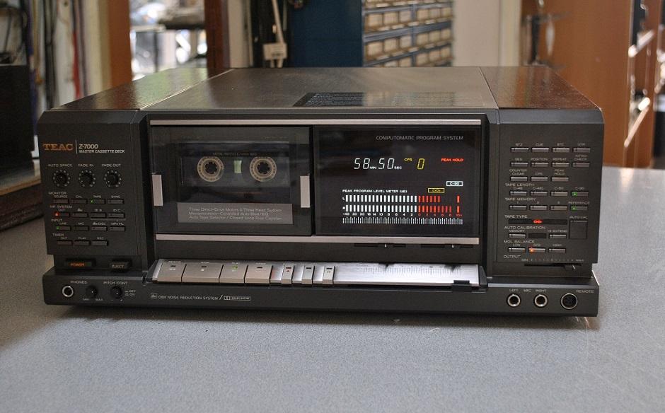 teac service z-7000 master cassette decd