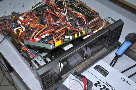 teac z - 7000 master cassette