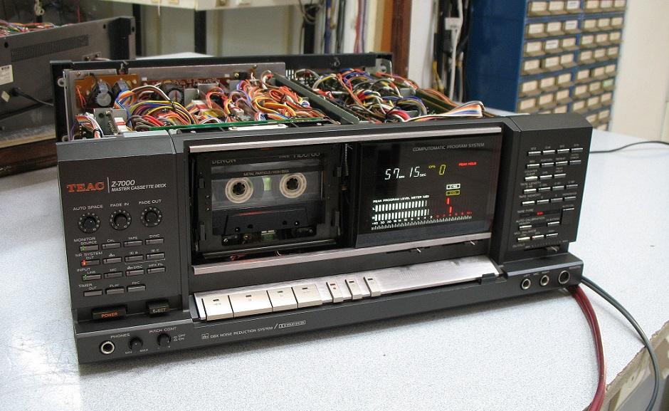 test recording teac z-7000