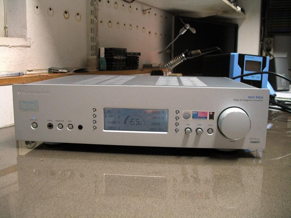 cambridge audio azur 840a version 2