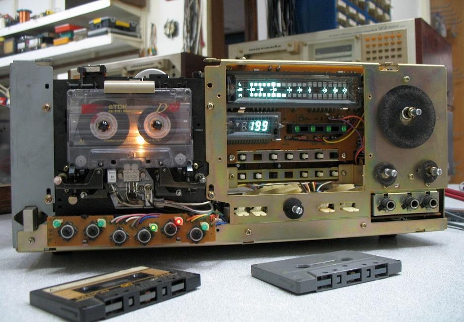 pioneer ct-f 950 rec test