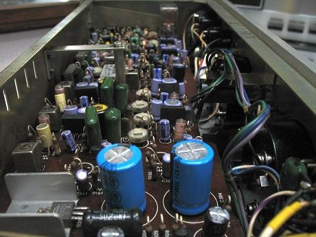 μαγνητόφωνο ανοιχτής ταινίας - αντικατάσταση ηλεκτρολυτικών πυκνωτών