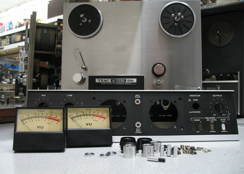 SERVICE REEL TO REEL TEAC A-7030 GSL
