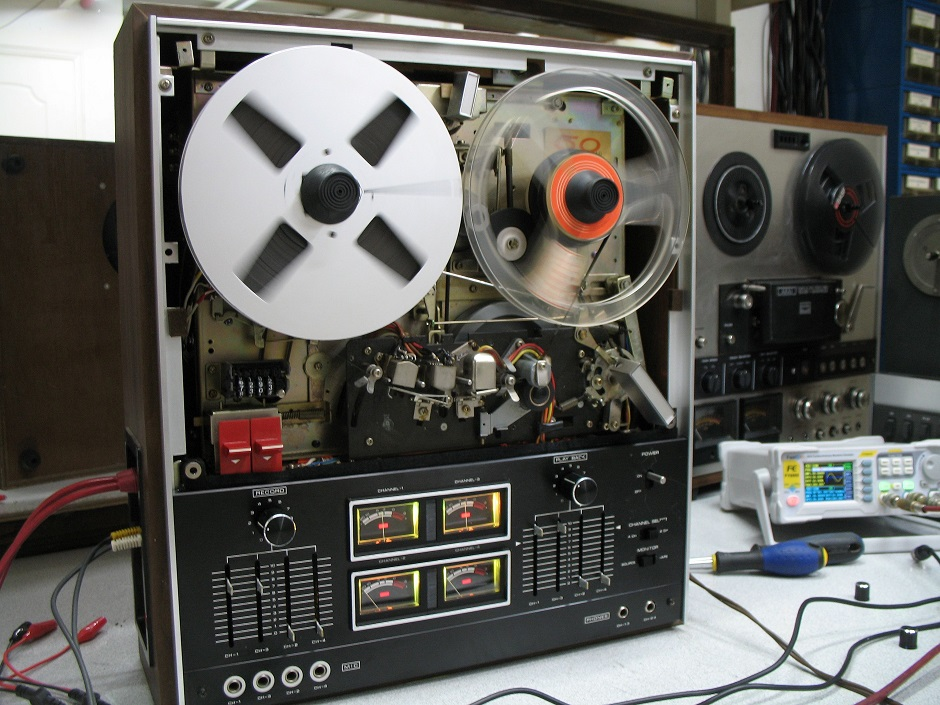 recording jvc reel to reel